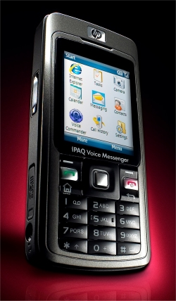 HP iPAQ Voice Messenger 500 series mobile phone