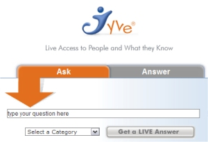 Jyve Live Search Engine