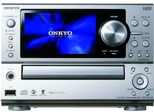 Onkyo Home stereo with anymusic
