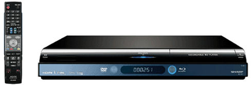 Sharp AQUOS BD-HP1 Blu-ray HD recorder
