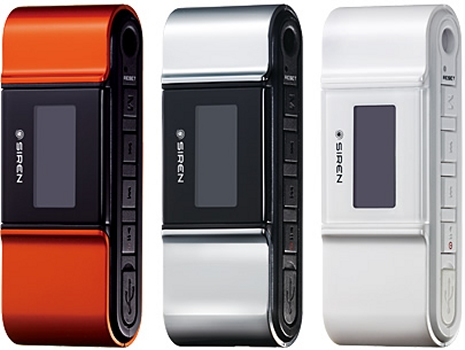 Siren DP100 MP3 player