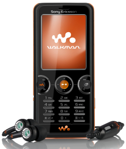 Walkman W610 from Sony Ericsson