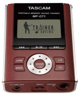 TASCAM MP3 player for guitar play along