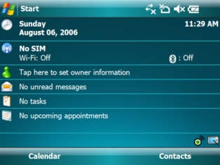 Windows Mobile 6 from Microsoft