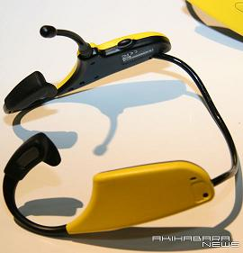 Tecmo bone conduction headset