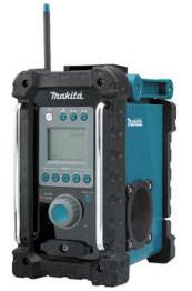 Durable jobsite radio from Makita