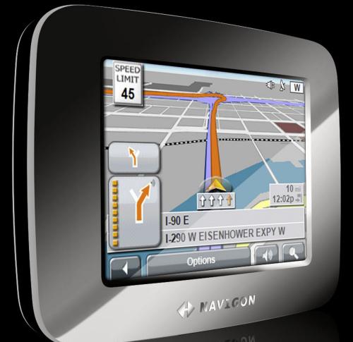 NAVIGON 7100 GPS Navigation Device