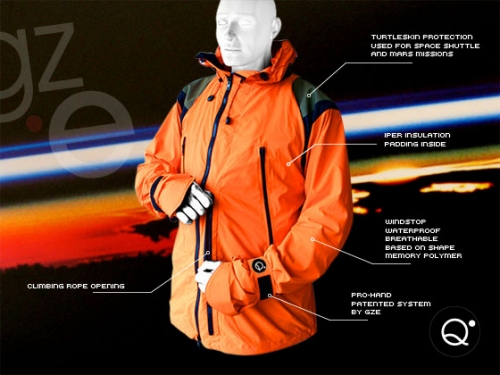 Quota Zero mountain jacket. Limited edition