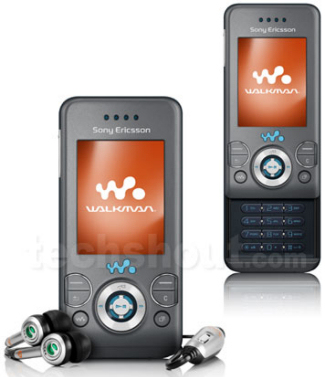 Sony Ericsson Walkman W580