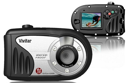 Vivitar underwater digital camera