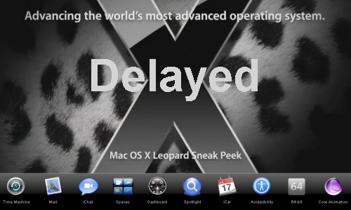 Leopard OS from Apple delayed to focus resources on iPhone