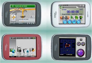 Pocket LOOX N100 GPS from Fujitsu Siemens