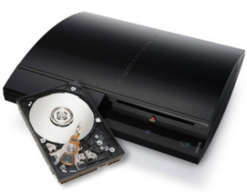 PS3 might get larger hard drive