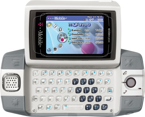 Sidekick iD official announced from T-Mobile