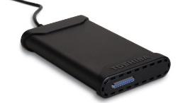 Toshiba 200GB portable hard drive