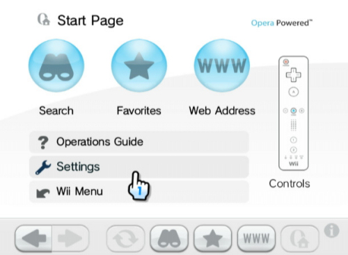 Wii launches final version of Opera browser, free for a limited time.