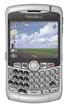 BlackBerry Curve available May 31 from At&T