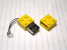 Lego USB Flash Drive from ZipZip