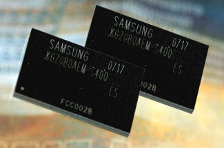 MoviMCP 4GB multi-chip package memory for mobile phones from Samsung