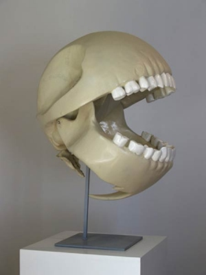 Pac-Man skeleton
