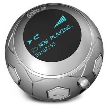 Shiro AS Soccer Ball MP3 player