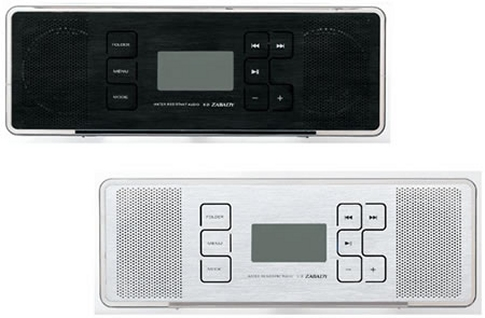 Twinbird SD ZABADY Waterproof MP3 player