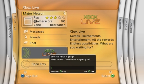 Microsoft Xbox 360 Spring Update brings improved dashboard, Messenger and more