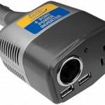 Simple, one-piece multi-port power inverter