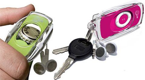 Mophie Mueva Wraptor Bevy iPod Shuffle case bottle opener