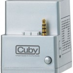 Cuby iPod Shuffle Dock / Speakers