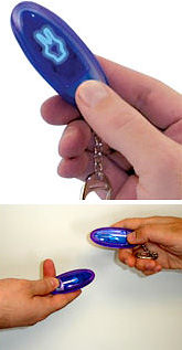 Electronic Rock Paper Scissors gadget