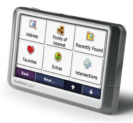 Garmin nuvi 250W GPS personal navigation