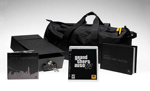 Grand Theft Auto IV Special Edition package