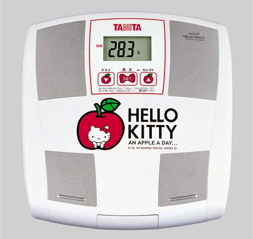 Hello Kitty Body Fat Monitor/ BF-071-KT Scale