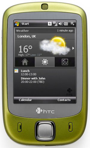 HTC Touch Smartphone unveiled with features that could rival the iPhone