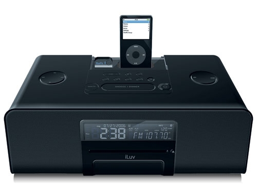 iLuv i199 stereo bluetooth player in black