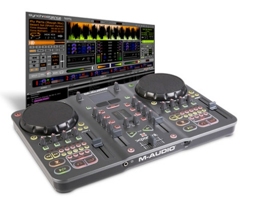 Torq Xponent from m-Audio is a computer based DJ system