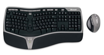 Microsoft Natural Ergonomic Desktop 7000 keyboard and mouse
