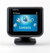 Nokia CK-15W Bluetooth Display Car Kit displays mobile phone information on in your car
