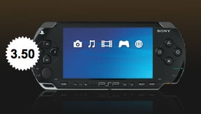 PSP Firmware gets upgrade to 3.5