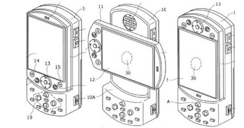 PSP Phone reveiled by drawing and us patent office website
