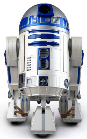 R2-D2 Home Projector and DVD Player