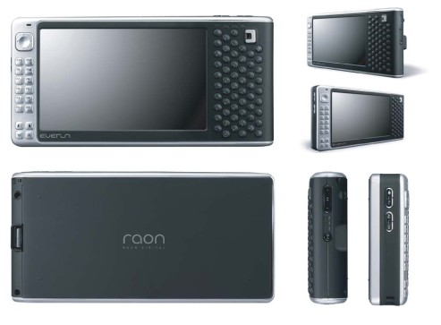 Raon Everun UMPC is light, portable and vertical