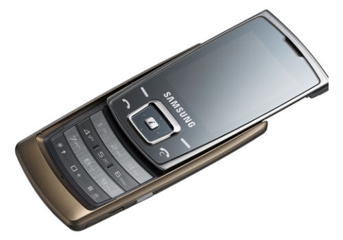 Samsung SGH-E840 is the thinnest slider phone