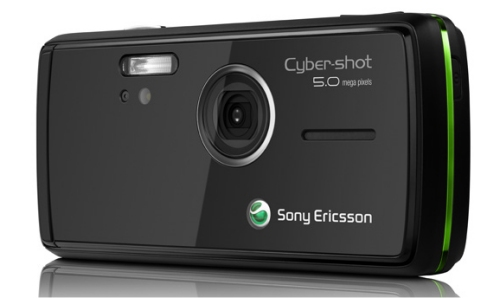 Sony Ericsson K850 Cybershot camera phone at 5 megapixels