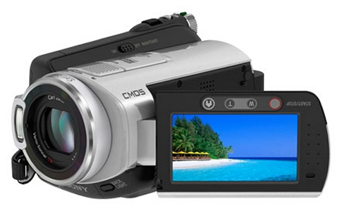 Sony HDR-SR5C Camcorder with 100GB hard drive