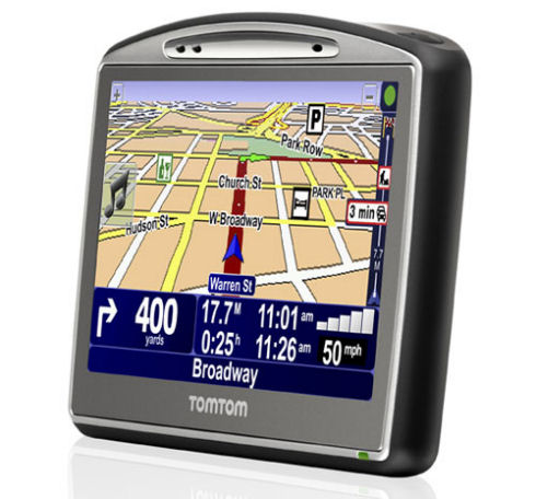 TomTom Go 720 GPS features community-based Map Share technology