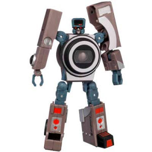 Transformers Spy Shot 6 as a robot