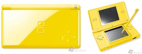 New yellow Pikachu Nintendo DS Lite to be available in Japan