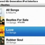 Sixth Generation iPod UI Leaked?
